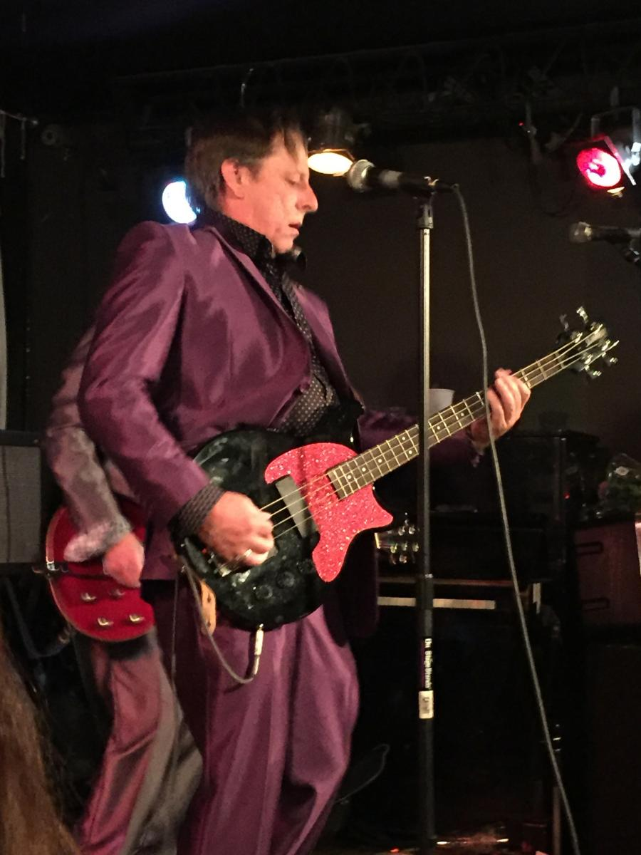 Bill Dickson - bass, vocals, songwriter